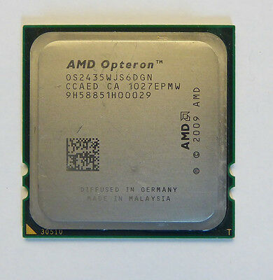 AMD Six-Core Opteron 2435 - 6x 2,6 GHz Sockel Fr6 OS2435WJS6DGN