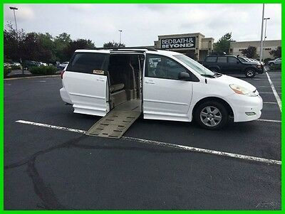 2010 Toyota Sienna LE VAN WHEELCHAIR HANDICAP TRANSFER SEAT HAND CONTROL BRAUN 2010 LE Used 3.5L V6
