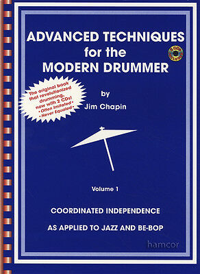 Advanced Techniques for the Modern Drummer Drum Music Book/2CDs