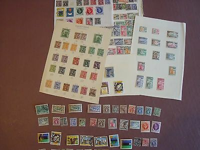 Zanzibar, Collection Stamps 216, Mint &  Used, On Leaves + Loose