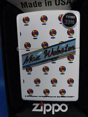 Zippo Lighter Max Webster A Million Vacations Canada Rock N Roll Band Souvenir