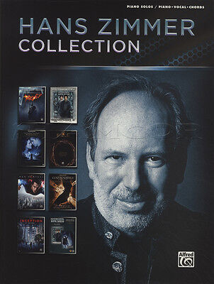 Hans Zimmer Collection Piano Solos/Piano Vocal Chords Sheet Music Book