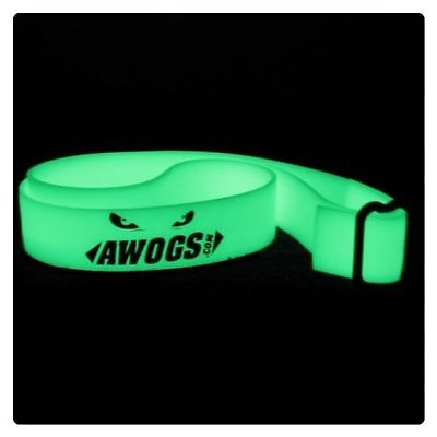 "AWOGS Firefighter Illuminating Glow in the Dark ""The Brotherhood""   Helmet Band"