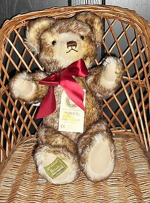 Merrythought - Harrods Mohair Jointed Bear With Growler