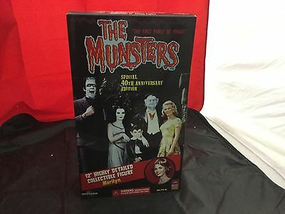 """The Munsters Special 40th Anniversary Edition """"Marilyn"""" 12"""" Collectible FIgure"""