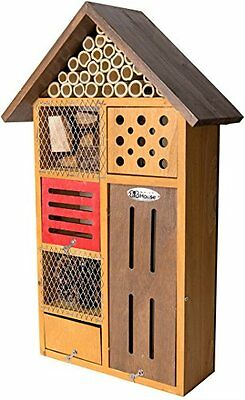 SuperMoss 56102 Clover Beneficial Bug Hotel Insect Nesting Mason Bee House New