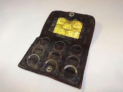 Old Machinist's Calibration Rings Or Weights Made By Ted Dunner Mfg Usa Made
