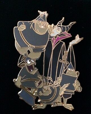 Disney Auctions P.I.N.S. Maleficent & Goons Henchman LE 500 Pin NEW