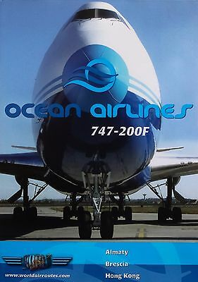 Just Planes Ocean Airlines Boeing 747-200F DVD