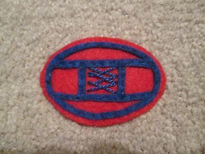 """WWI US Army 30th Division """"Old Hickory"""" Patch  AEF"""