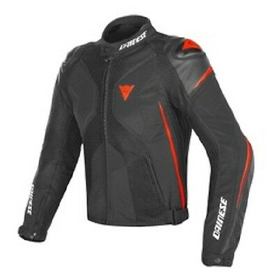 Giacca Dainese Super Rider D-Dry Black/black/red Fluo - 1654592