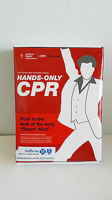 Hands Only CPR With Mini Anne Mannikin DVD & Instructions English/Spanish