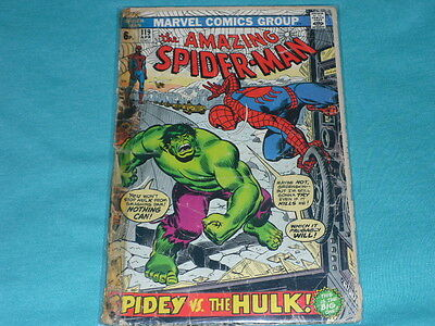 Amazing _Spiderman #119_The Hulk_ Second App Gd Copy All There ..