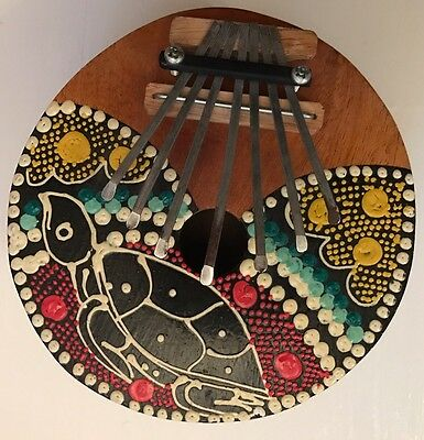 African Africa Musical Instrument Coconut Kalimba Thumb Piano