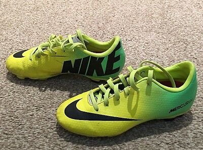 Nike Mercurial Football Boots - Size 1 UK , Yellow Uppers