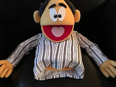Puppet Productions- Professional Hand Puppet - Balding Man - Creative Ministry