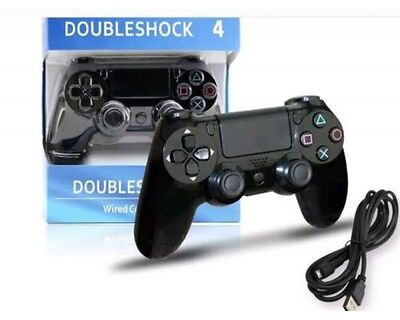 Controller Ps4 Dual Shock  - Jet Black- Playstation Wireless