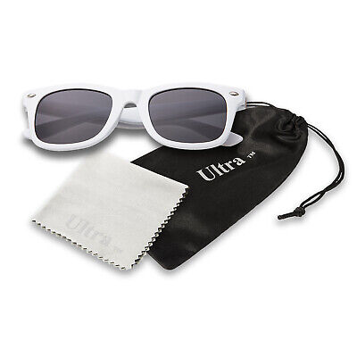 White Kids Childrens Sunglasses Classic Boys Girls Shades Fashion Glasses UV400