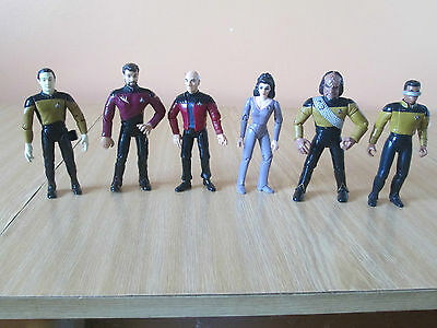 Star Trek: The Next Generation Set Of Action Figures