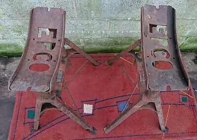 Pair of Vintage Epco Commercial Vehicle Stands