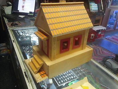 Rare Wooden Russian Model House Kit - Complete - See photos - Untranslated