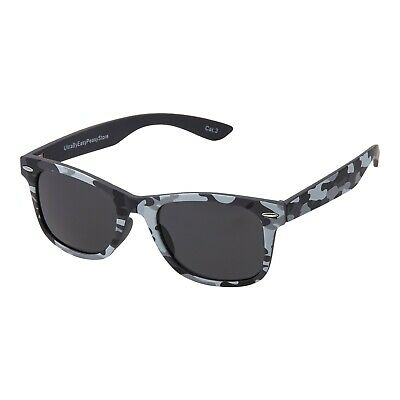 New Childrens Kids Grey Camoflage Classic Style Sunglasses UV400 Classic Shades