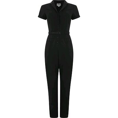 collectif Carrie black jumpsuit