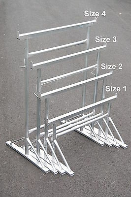 Galvanised Builders Trestles All Sizes, Fixed Leg, 450 Kg SWL BS1139 Band Stands