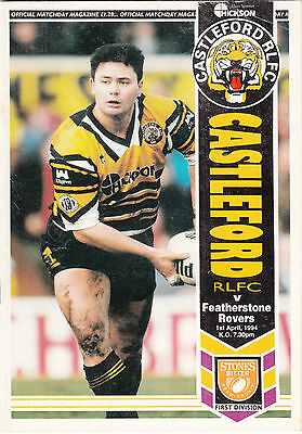 Castleford v Featherstone Rovers 1993/4 (1 Apr)