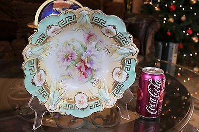 Stunning Antique RS Prussia Porcelain Bowl / Very Rare