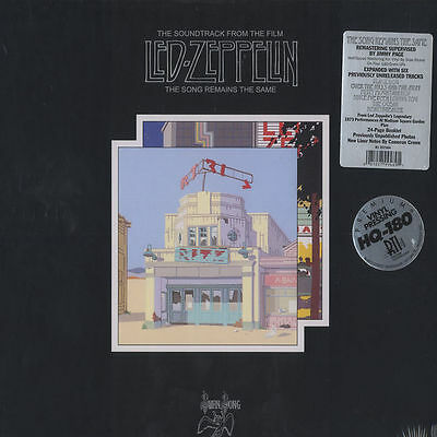 Led Zeppelin - The Song Remains The Same - 4 LP Box - OVP
