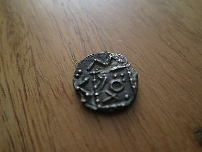 Anglo-Saxon Silver Sceat - 600-775 - Rare Variant - 1.03 Grams.