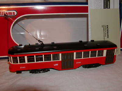 Williams by Bachmann BAC 23906 St. Louis Peter Witt Streetcar O MIB New 2011