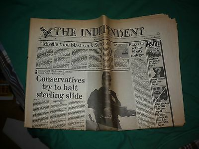 The INDEPENDENT newspaper - No. 1 - Tuesday 7 October 1986 (First print)