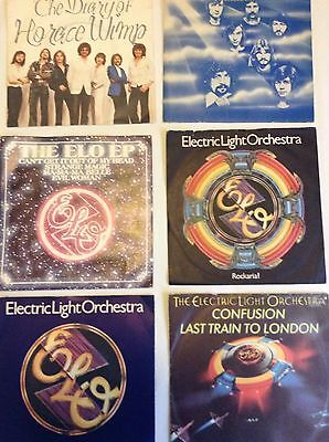 """E.L.O. - Electric Light Orchestra - 6 x 7""""singles - Picture Sleeves"""