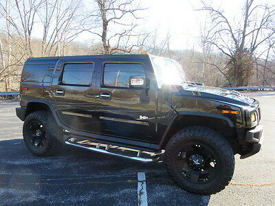 "2006 Hummer H2 LUXURY 2006 H2 - LOW MILES - ONE OF A KIND!!! 20X12 WHEELS WITH 37"" TOYO TIRES!!!"