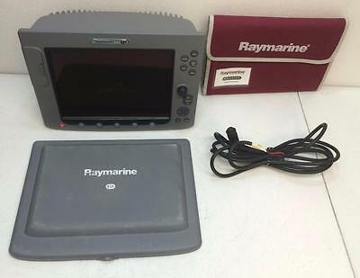 Raymarine E120 Gps Chartplotter Radar Display