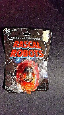 1978 Tomy Preowned Windup Toy Rascal Robot Factory Sealed #2517