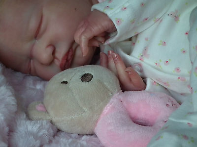 *BREATHING* Reborn baby doll ~ Magnetic*UMBILICAL*~L.E Serenity Laura Lee Eagles