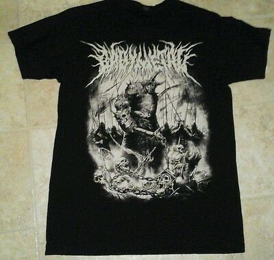 BABYMETAL Official 2016 world tour t shirt, men's small, used