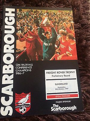 100 Scarborough Football Programmes