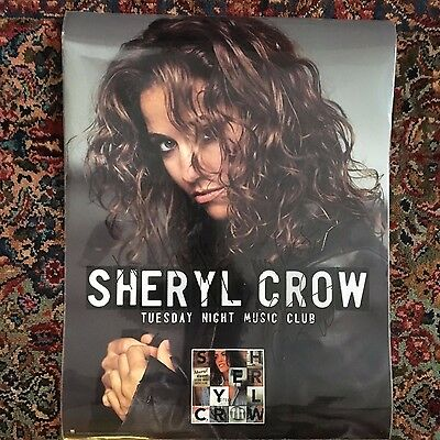 Sheryl Crow autographed poster