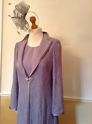 Veni Infantino Lace Dress Coat Mother of the Bride Outfit Size 14 BNWT rrp £499
