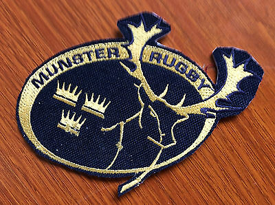 Patch Badge Munster Rugby - Limerick Cork - Rugby Pro 12 - Champions Cup