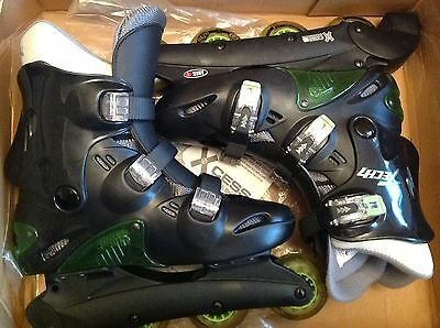 Xcess In-Line Skates adult size 7. Little used.