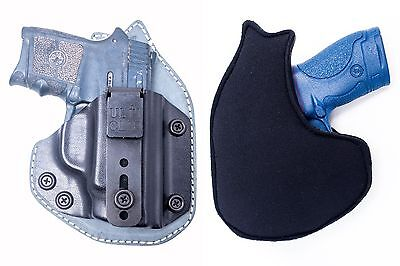 OUTBAGS USA Kydex Leather Neoprene Hybrid IWB Appendix Conceal Carry Holster
