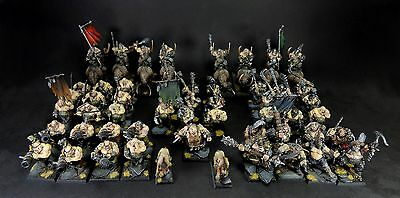 warhammer Ogre (Ogors) army Gutbusters Maneaters Pro painted