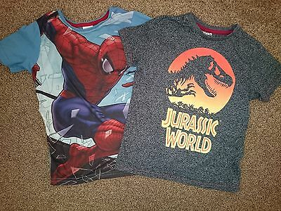 age 7 and age 6-7 t-shirts