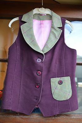 Equetech Waistcoat and Skirt Size 10
