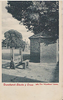 Vintage Postcard Dunchurch Stocks & Cross Warwickshire  Posted 1905